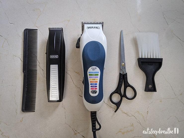 diy haircuts wahl clipper kit